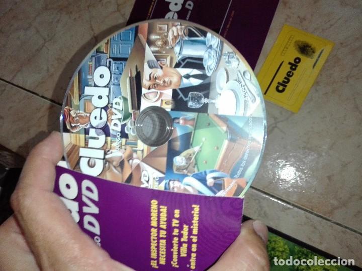Juegos de mesa: JUEGO CLUEDO CON DVD - JUEGO DE MISTERIO completo - Foto 7 - 127273771