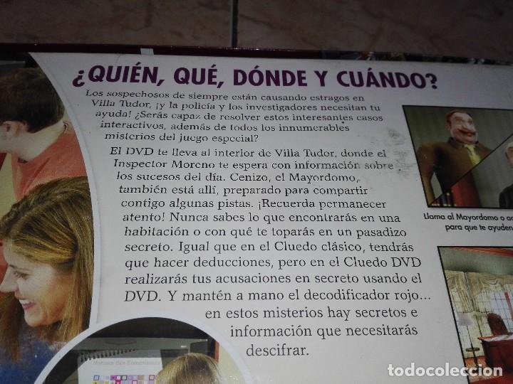 Juegos de mesa: JUEGO CLUEDO CON DVD - JUEGO DE MISTERIO completo - Foto 9 - 127273771