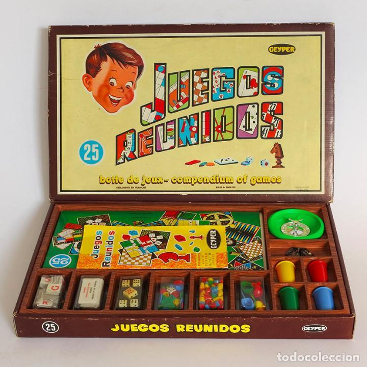 Caja De 25 Juegos Reunidos Geyper Anos 70 Compl Comprar Juegos De