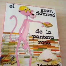 Juegos de mesa: EL GRAN DOMINÓ DE LA PANTERA ROSA. AÑO 1973. Lote 127573871