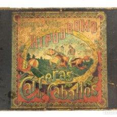 Juegos de mesa: HIPODROMO , CARRERA DE CABALLOS. JUEGO DE SALÓN.. Lote 127618731