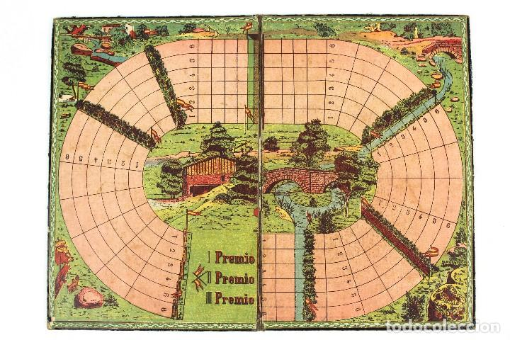 Juegos de mesa: HIPODROMO , CARRERA DE CABALLOS. JUEGO DE SALÓN. - Foto 2 - 127618731