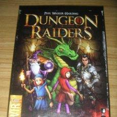 Juegos de mesa: JUEGO DE CARTAS DUNGEON RAIDERS (DEVIR). Lote 127800367
