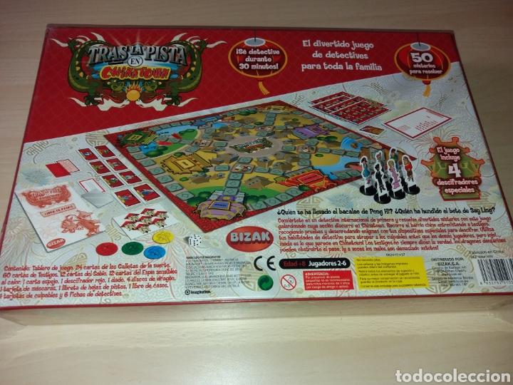 Tras La Pista En Chinatow El Divertido Juego Comprar Juegos De