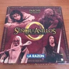 Juegos de mesa: PARCHIS EL SEÑOR DE LOS ANILLOS DIARIO LA RAZON. Lote 127927551