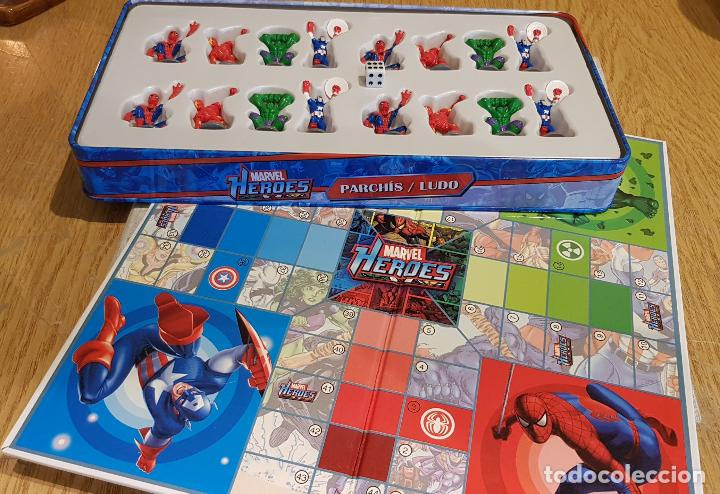Parchis Ludo Marvel Heroes Completo Caja Comprar Juegos De