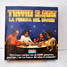 Juegos de mesa: JUEGO DE MESA TRIVIO 3000 LA FUERZA DEL SABER DE FALOMIR. Lote 128168899