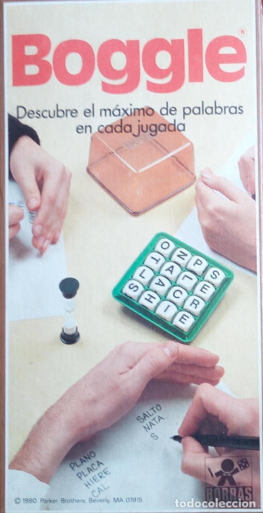 Boggle Borras Comprar Juegos De Mesa Antiguos En Todocoleccion