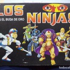 Juegos de mesa: LOS NINJAS TRAS EL BUDA DE ORO.FALOMIR JUEGOS REF.6400. Lote 128334519
