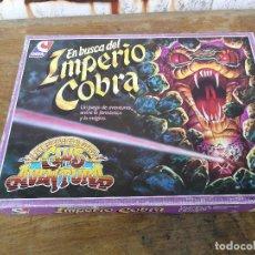 Juegos de mesa: EN BUSCA DEL IMPERIO COBRA DE CEFA 1988 COMPLETO. Lote 128501847