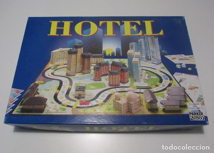 Juego De Mesa Hotel De Parker Hasbro 2004 Pract Comprar Juegos De
