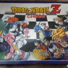 Juegos de mesa: AJEDREZ DRAGON BALL Z CHESS FIGURAS PINTADAS A MANO. Lote 128570259