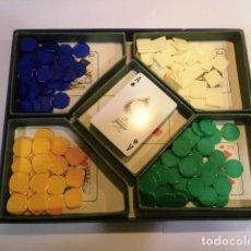 Juegos de mesa: ESCALERA REAL - CAJA ANTIGUO JUEGO DE NAIPES. Lote 128822831