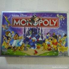 Juegos de mesa: MONOPOLY. EDICIÓN DISNEY - PARKER . Lote 128825079