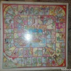 Juegos de mesa: ANTIGUO JUEGO DE LA OCA Y PARCHIS EN CARTON EDITORIAL VALENCIANA. Lote 128832978