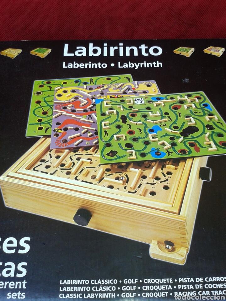 Laberinto De Madera Varios Juegos Comprar Juegos De Mesa Antiguos