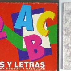 Juegos de mesa: CIFRAS Y LETRAS CON RELOJ DE ARENA, COMPLETO Y LIBRO ADIVINA EL ALFABETO DE 1989. Lote 128941511