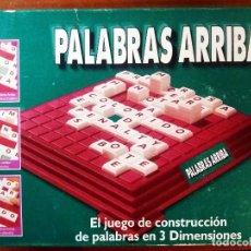 Juegos de mesa: JUEGO DE CONSTRUCCIÓN DE PALABRAS EN 3 DIMENSIONES PALABRAS ARRIBA, DE PARKER. 40 X 27 X 8 CM.. Lote 190450303