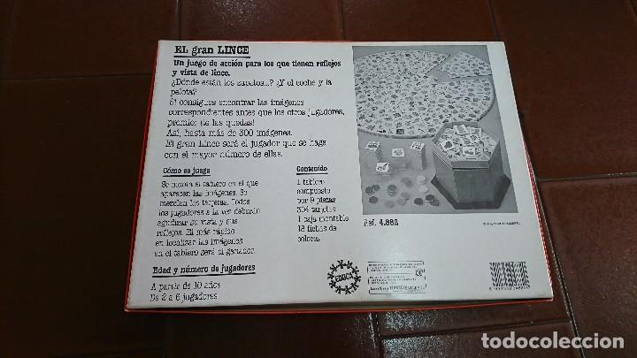 Juegos de mesa: EL GRAN LINCE, EDUCA, JUEGO DE MESA - Foto 3 - 129054715