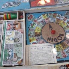 Juegos de mesa: JUEGO ANTIGUO BORRAS RODIN. Lote 129292362