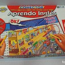 Juegos de mesa: CONECTOR, APRENDO INGLÉS, EDUCA. Lote 129429207