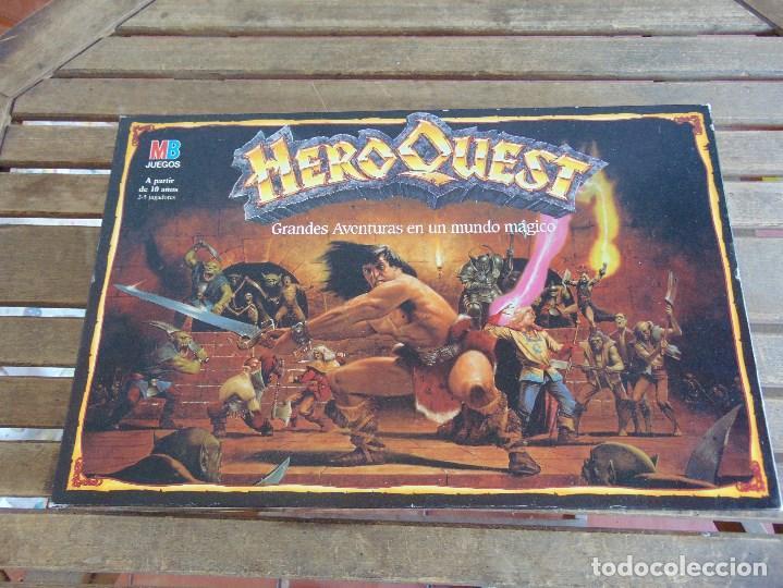 Juego De Mesa Hero Quest Heroquest Juego De Rol Comprar Juegos De