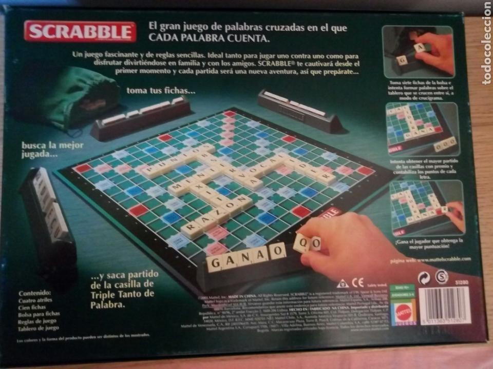 Juego De Mesa Scrabble Original En Castellano Comprar Juegos De