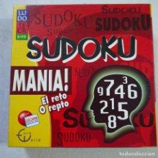 Juegos de mesa: SUDOKU MANIA. Lote 129665799
