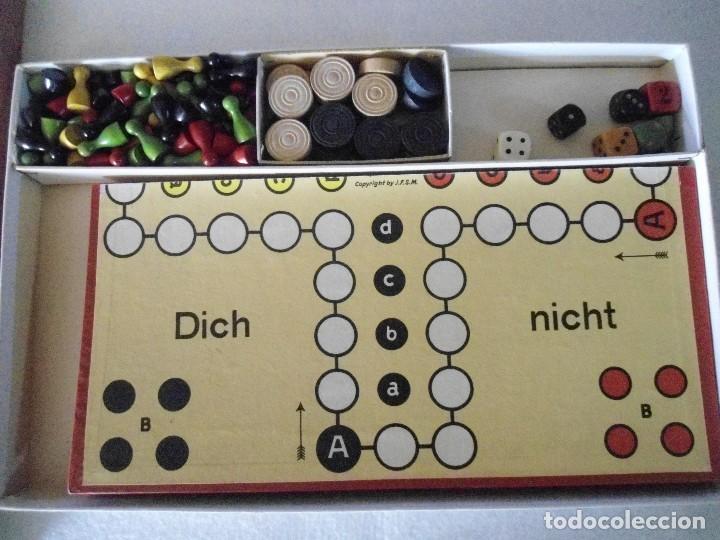 Juegos de mesa: ANTIGUO JUEGO DE MESA ALEMAN - Foto 6 - 130009631