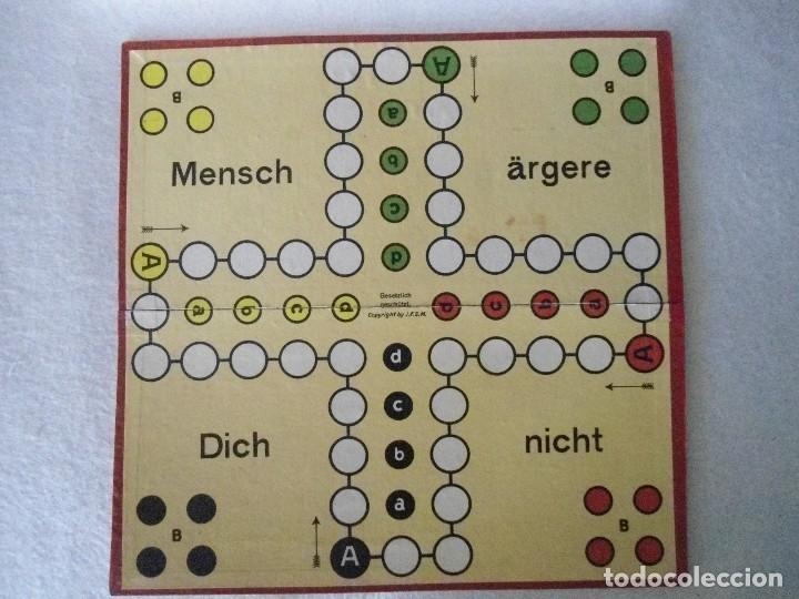 Juegos de mesa: ANTIGUO JUEGO DE MESA ALEMAN - Foto 15 - 130009631