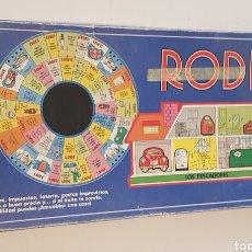 Juegos de mesa: JUEGO ANTIGUO BORRAS RODIN - INCOMPLETO. Lote 130190979