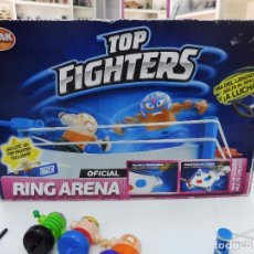 Juegos de mesa: TOP FIGHTERS RING ARENA OFICIAL BIZAK. Lote 130248962