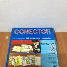 Juegos de mesa: ANTIGUO JUEGO CONECTOR 2 . 312 PREGUNTAS Y RESPUESTAS. AÑOS 70. Lote 130453355