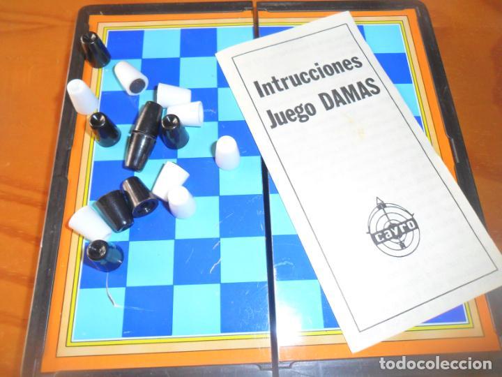 JUEGOS MAGNETICOS CAYRO - DAMAS - (Juguetes - Juegos - Juegos de Mesa)