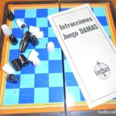 Juegos de mesa: JUEGOS MAGNETICOS CAYRO - DAMAS -. Lote 130475402