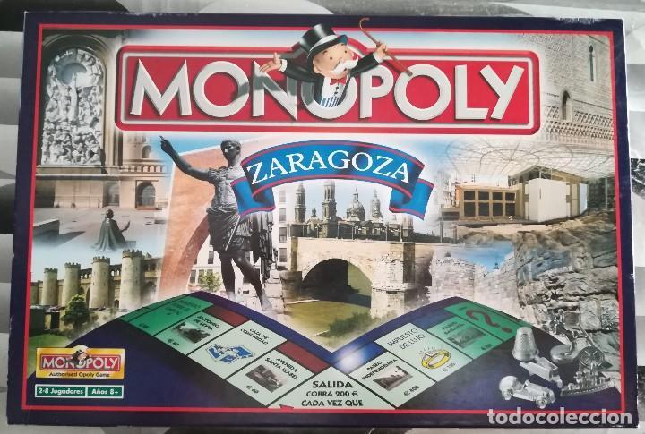 Monopoly Edicion Zaragoza Comprar Juegos De Mesa Antiguos En