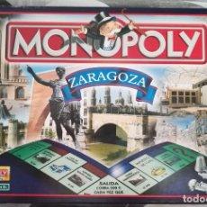 Juegos de mesa: MONOPOLY EDICIÓN ZARAGOZA . Lote 130605202