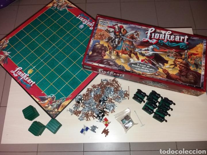 Lionheart Parker Buy Old Board Games At Todocoleccion 130608983