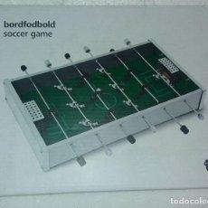 Juegos de mesa: MINI FUTBOLÍN BORDFODBOLD SOCCER GAME METEGOL. Lote 130661838