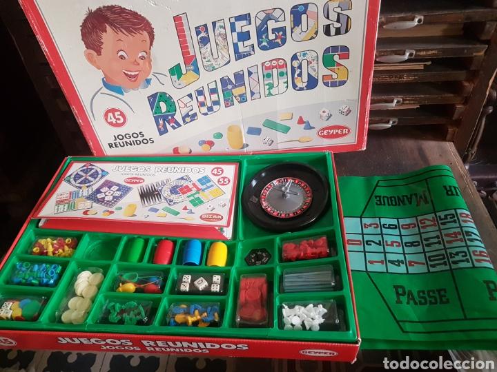JUEGOS REUNIDOS 45 GEYPER BIZAK (Juguetes - Juegos - Juegos de Mesa)