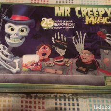 Juegos de mesa: MR CREEPY MAGIC 25 TRUCOS TERRORIFICOS GOLIATH . Lote 130851024