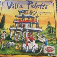 Juegos de mesa: VILLA PALETTI JUEGO DE MESA MADERA BIZAK KREATEN. Lote 130852608