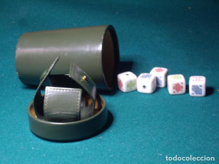 Juegos de mesa: POKER -JUEGO DADOS -PIEL - Foto 2 - 130887328