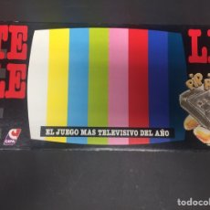 Juegos de mesa: JUEGO DE MESA TELELE DE CEFA,EL JUEGO MAS TELEVISIVO DEL AÑO. NUEVO. Lote 130906629