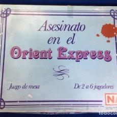 Juegos de mesa: JUEGO DE MESA ASESINATO EN EL ORIENT EXPRESS DE NAC. Lote 130919864