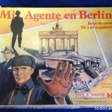 Juegos de mesa: JUEGO DE MESA MI AGENTE EN BERLIN DE NAC. Lote 130923740