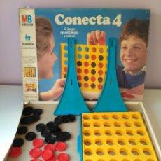 Juegos de mesa: JUEGO DE MESA CONECTA 4 MB VERSION AÑOS 80 VINTAGE. Lote 130953948