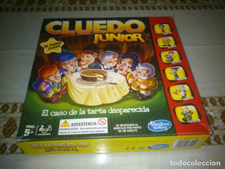 JUEGO DE MESA CLUEDO JUNIOR (Juguetes - Juegos - Juegos de Mesa)