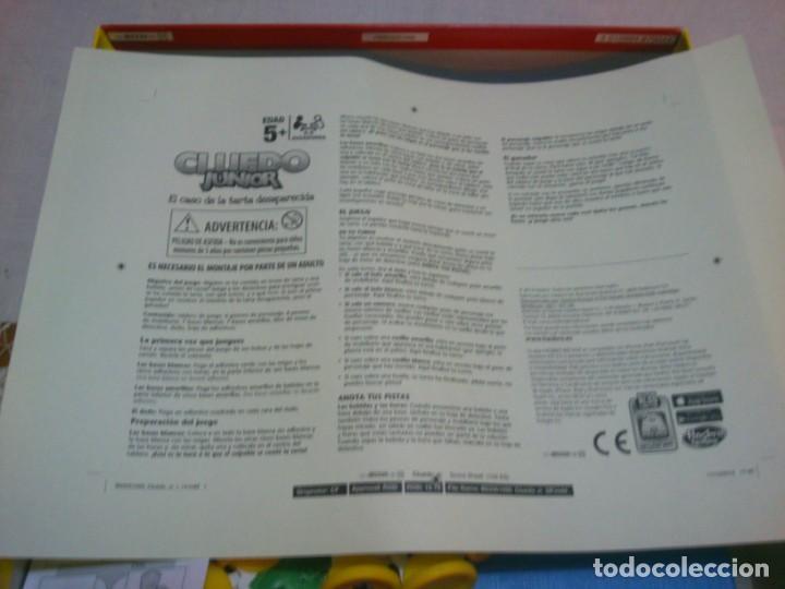Juegos de mesa: JUEGO DE MESA CLUEDO JUNIOR - Foto 3 - 131278375