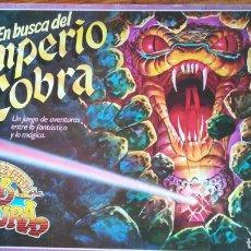 Juegos de mesa: EN BUSCA DEL IMPERIO COBRA. ED ESPECIAL. Lote 131418674